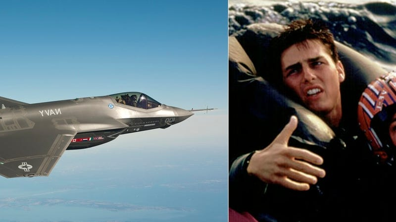 F 35 News >> Exec: Top Gun 2 Is Real and Stars a Plane That Doesn't Fly (Updated: Drunken Confirmation)