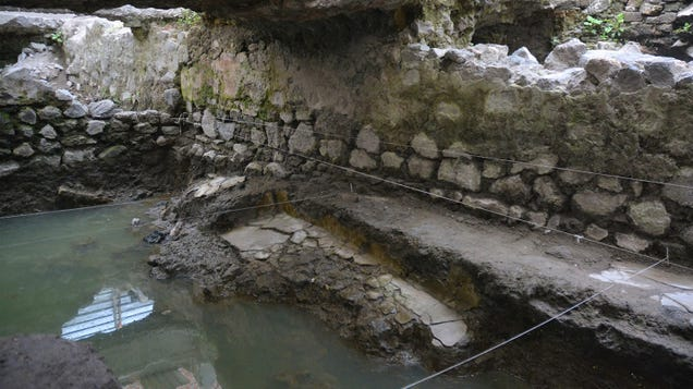14th-Century Steambath Discovered in Mexico City
