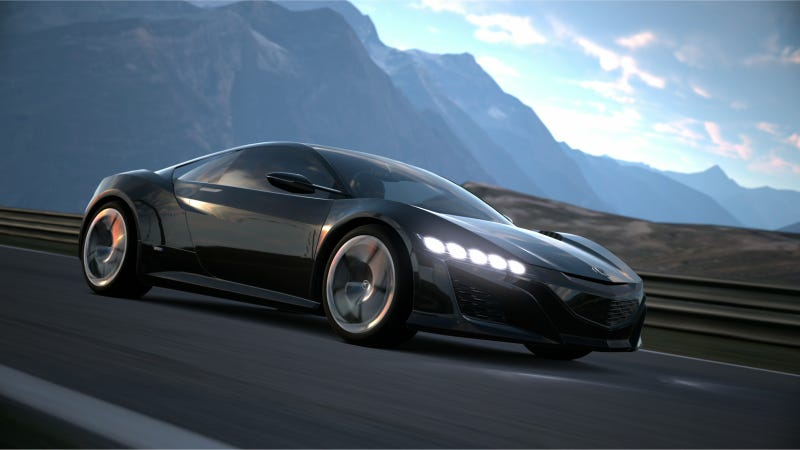 Illustration for article titled Acura NSX Supercar Concept To Debut In Virtual World Of Gran Turismi®6 Game