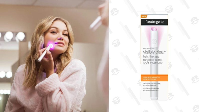 Neutrogena Visibly Clear Light Therapy Targeted Acne Spot Treatment | $14 | Daily Steals | Promo code KINJALIGHT