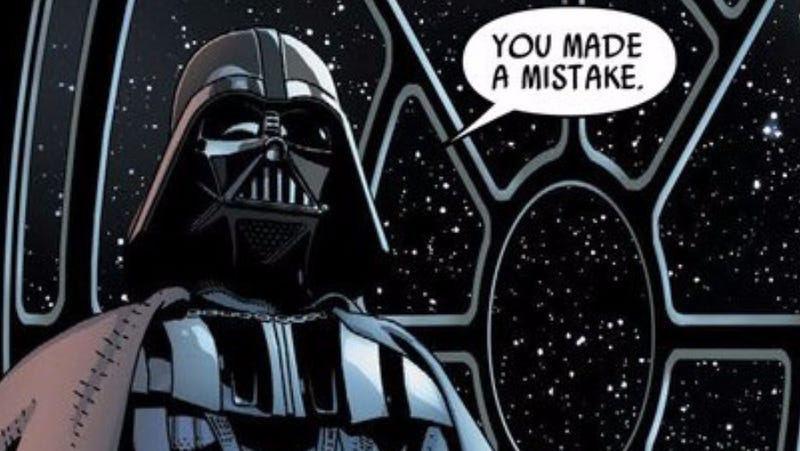 Illustration for article titled Marvel's Darth Vader Comic Will Be Ending at Issue #25