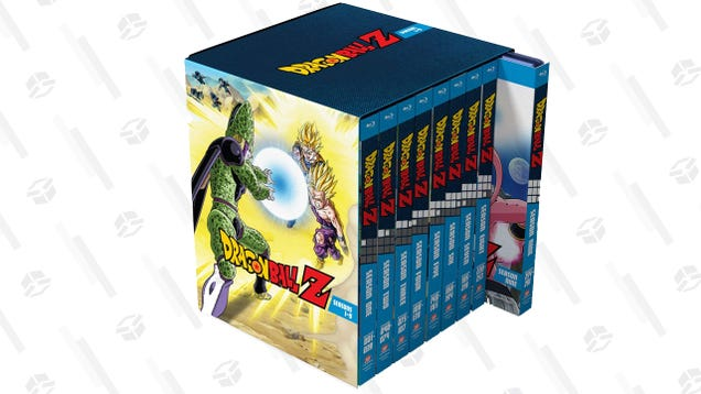 The Dragon Ball Z Blu-Ray Collection is OVER 9,000! JK, It s $93.