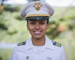 Simone Askew (1st Lt. Austin LaChance/USMA Public Affairs Office)