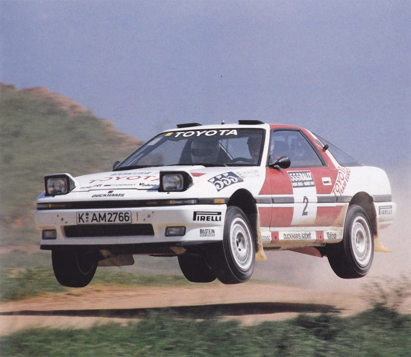 The Toyota Supra Rally Car That Time Forgot