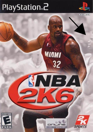 Illustration for article titled The NBA Player Who Came Out Was A Video Game Cover Star... Sort Of