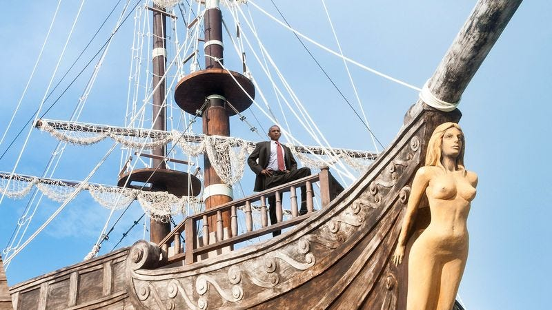 Illustration for article titled Obama Returns From Trade Summit With 5 Stout Ships Full Of Cardamom, Silk, And Indigo