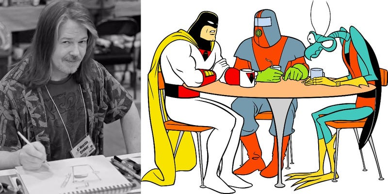 Illustration for article titled RIP C. Martin Croker of Space Ghost: Coast to Coast