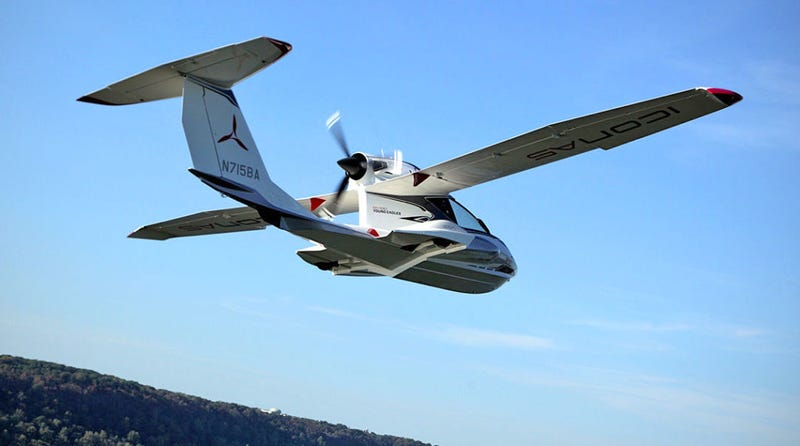 Illustration for article titled Icon A5 crash kills two, including designer of aircraft