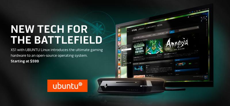 Illustration for article titled Alienware lanza un equipo X51 con Ubuntu, finalmente los jugadores ven la luz con Linux
