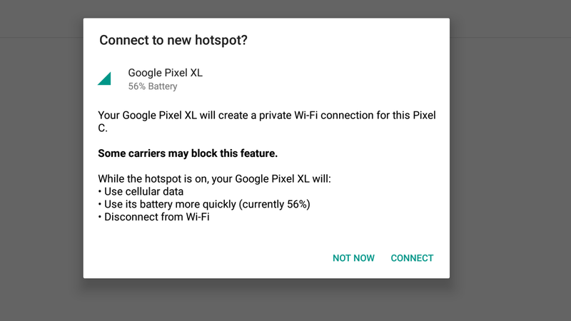 Illustration for article titled Google's Instant Tethering Makes It Easier to Share Your Phone's Connection