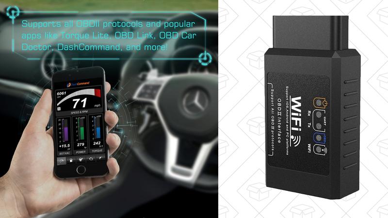 Escáner Dr. Meter OBD2 Wi-Fi | $12 | Amazon | Usa el código V7UY5UF7