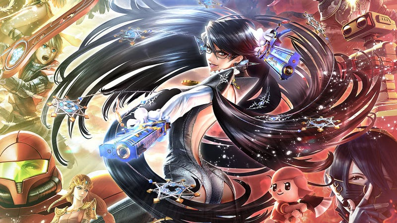 Image result for bayonetta smash