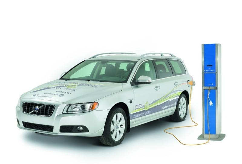 Illustration for article titled Volvo Jumps On Plug-In Hybrid Bandwagon
