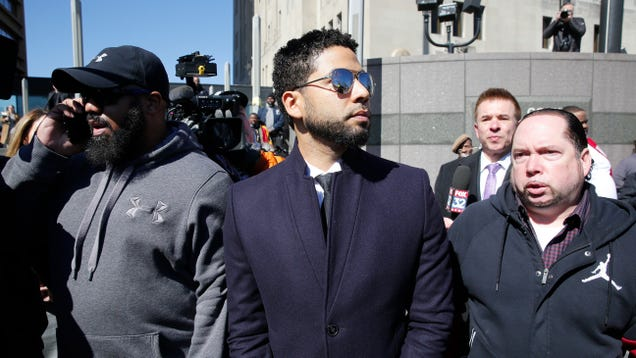 Chicago police release video of Jussie Smollett immediately after alleged attack