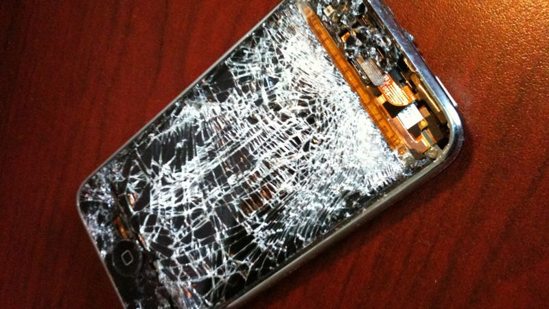 Illustration for article titled These Are The Most Damaged Barely Alive iPhones Owned By Deadspin Readers