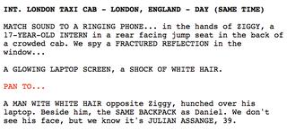 Illustration for article titled A Wikileaks lenyúlta és szétcincálta az Assange-film forgatókönyvét