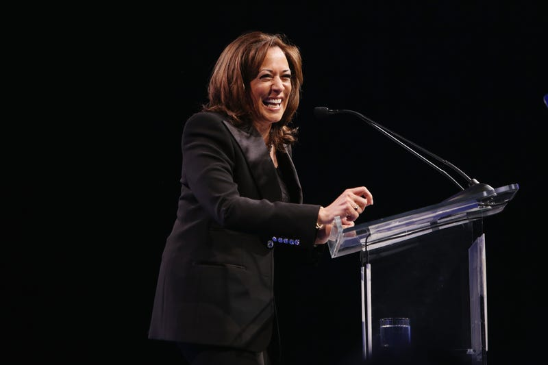 United States Senator Kamala Harris speaks onstage during the The Human Rights Campaign 2019 Los Angeles Gala Dinner at JW Marriott Los Angeles at L.A. LIVE on March 30, 2019 in Los Angeles, California.