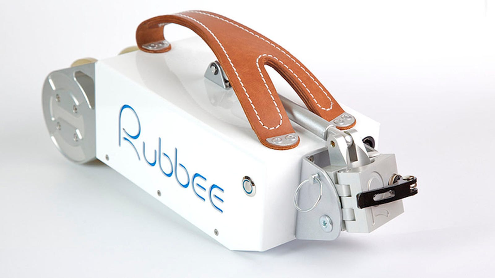 Rubbee, el motor portátil que hace eléctrica tu bicicleta