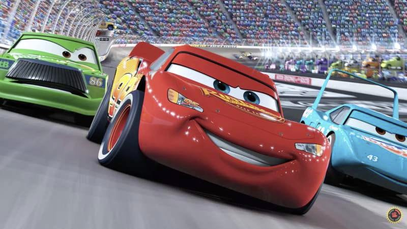 Screenshot: Film Theory: The Cars In The Cars Movie Aren't Cars!