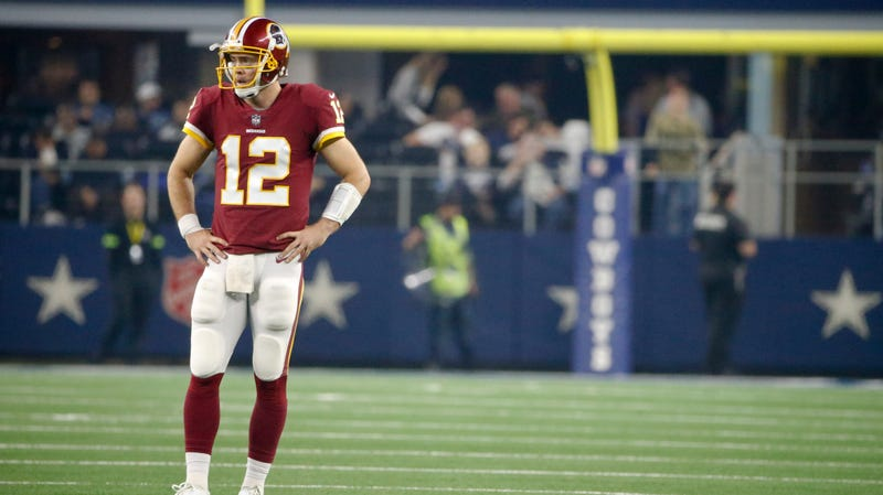 Illustration for article titled Washington Is Behind Colt McCoy, For Better Or Worse