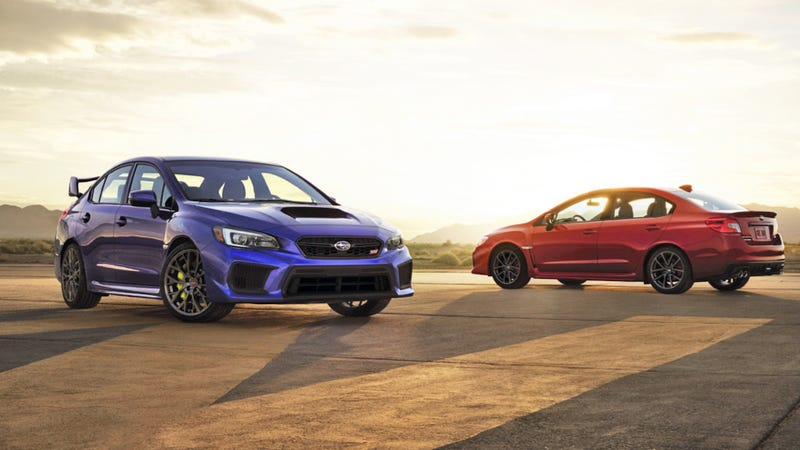 Illustration for article titled The 2018 Subaru WRX And WRX STI Are Less Tragic Inside Than They Used To Be