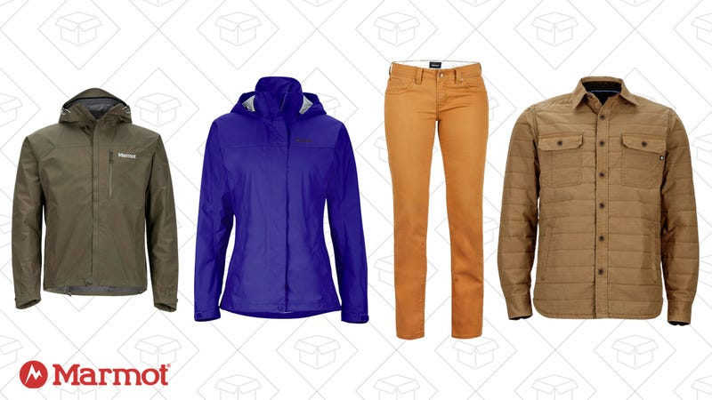 Up to 25% off all new Marmot