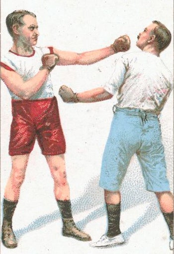 Illustration for article titled I was challenged to fisticuffs in traffic today, how rude!
