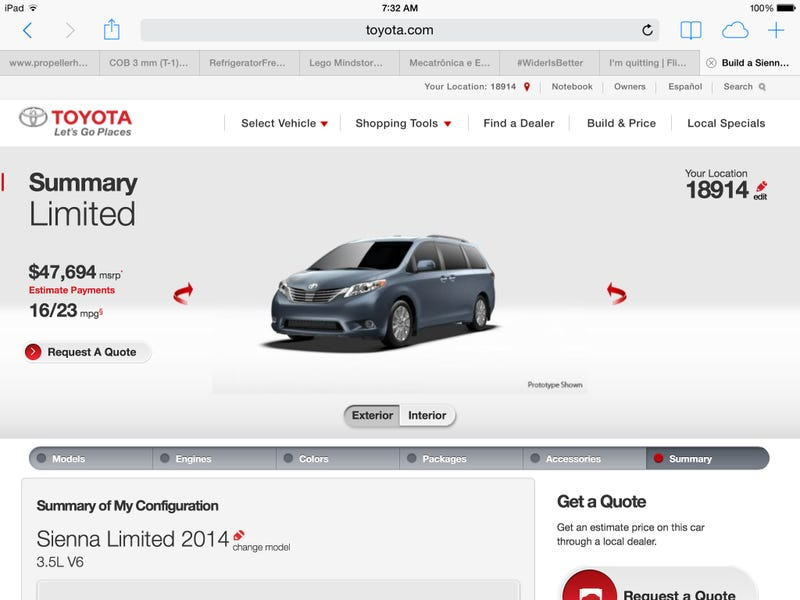 Illustration for article titled Everyone says the Honda Odyssey touring elite is too expensive...
