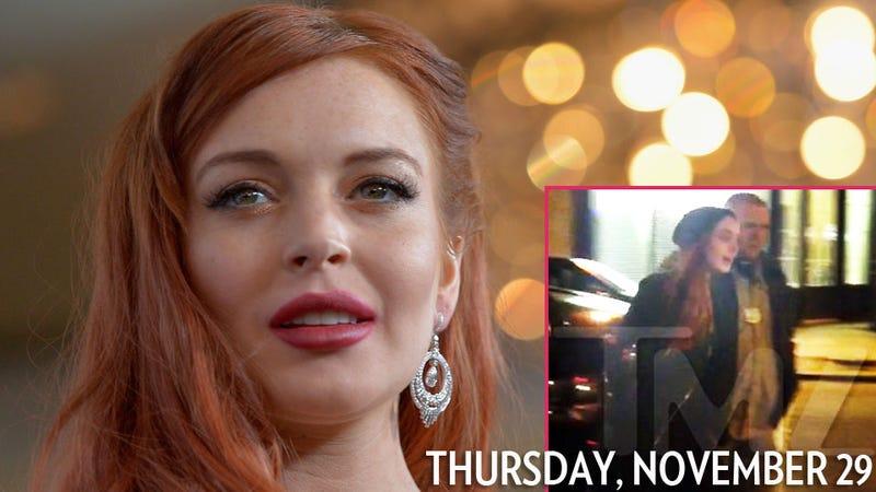 Illustration for article titled It's Thursday So Lindsay Lohan Got Arrested Again