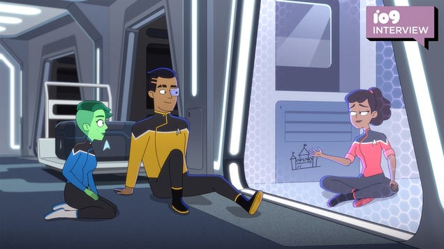 Star Trek: Lower Decks  Scrappy Ensigns on How Their Characters Will Evolve in Season 2