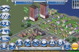 Illustration for article titled SimCity iPhone Micro-Review: Reticulating iPhones
