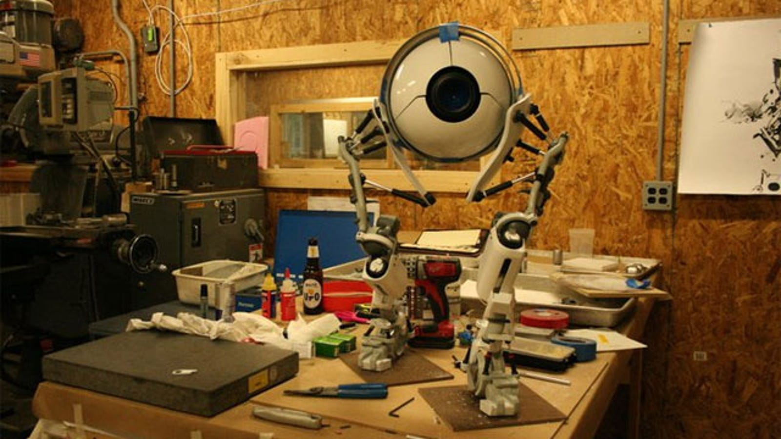 Wow, Somebody Built (Another) Real Portal 2 Robot
