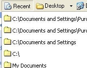 Illustration for article titled Folder View Gets You Back to That Last Folder Quickly