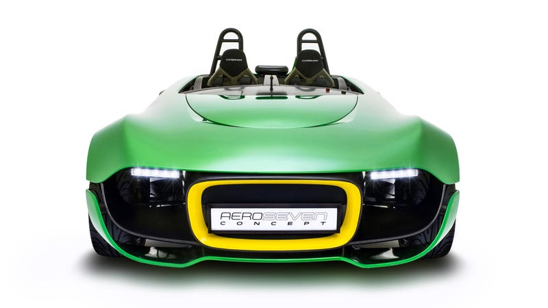 Illustration for article titled The Caterham AeroSeven Is A Carbon Stimulant Headed For Production