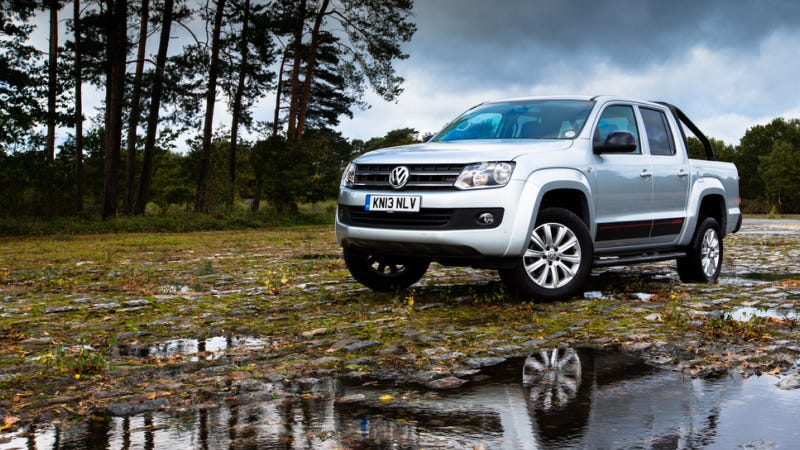 Illustration for article titled VW Amarok Might Be Worth Moving Abroad For