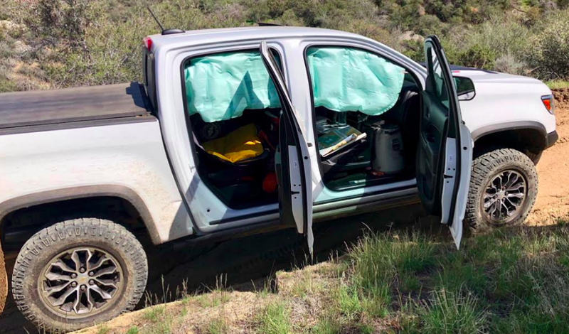 Chevrolet Will Fix Colorado Zr2s To Prevent Airbags From Deploying Off Road