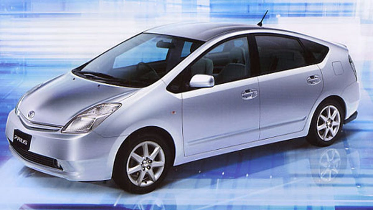 Solar Panel Powered Prius In 2009 Confirmed Car Toyota
