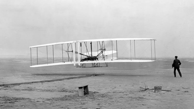 Illustration for article titled Found: The Missing Patent for the Wright Brothers' Revolutionary 'Flying Machine'