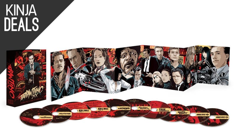 Illustration for article titled Today's Best Media Deals: Tarantino Collection, Die Hard, and More
