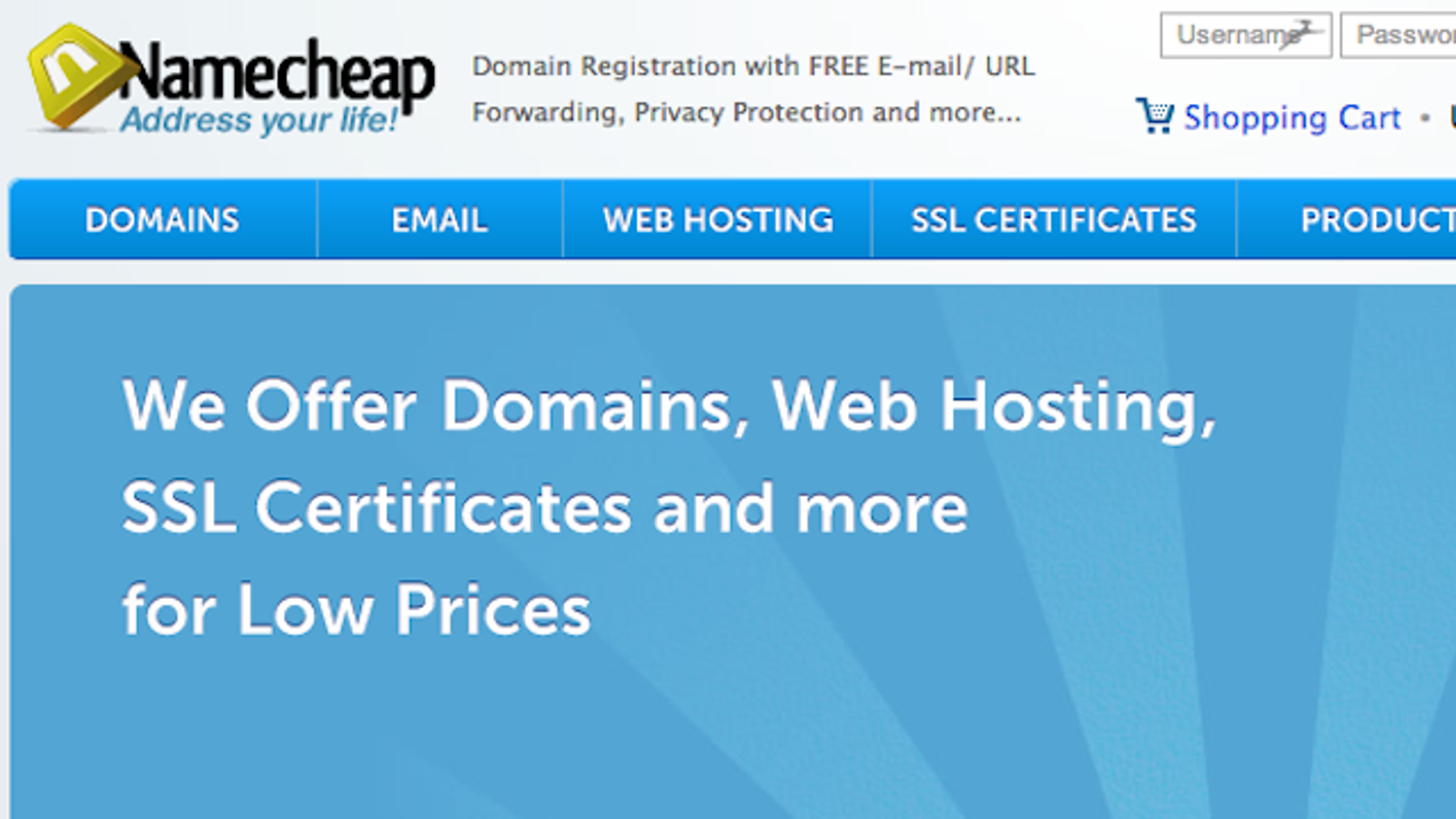 Most Popular Domain Name Registrar Namecheap