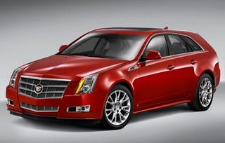 Illustration for article titled 2010 Cadillac CTS Sport Wagon Shows Off Hot Rear End Ahead Of Pebble Beach Reveal