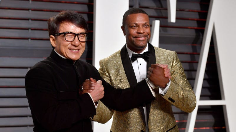 Illustration for article titled Chris Tucker and Jackie Chan are either bad at waving or teasing a fourth Rush Hour