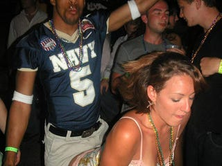 Illustration for article titled Midshipman, Indeed: Navy Player Sees Your Greg Oden-Grinding-On-A-Lady Photo And, Um, Raises You