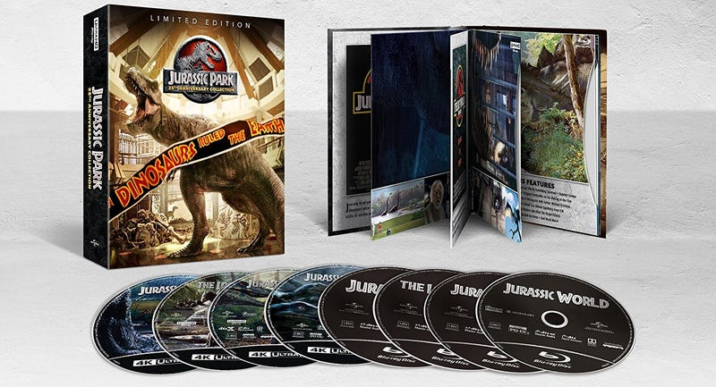Jurassic Park 25th Anniversary 4K Collection | $50 | Amazon