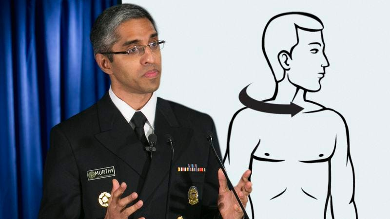 Illustration for article titled Surgeon General Recommends Twisting Head Far Enough Until You Hear Little Pop