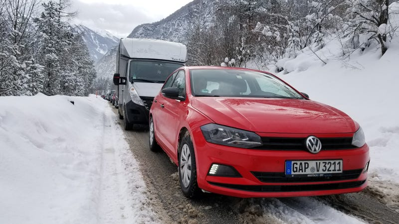Illustration for article titled Driving One of Europe's Forbidden Economy Cars in the Alps Was Straight Up Miserable