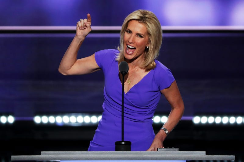 Laura Ingraham delivers a speech on the third day of the Republican National Convention on July 20, 2016, at the Quicken Loans Arena in Cleveland.