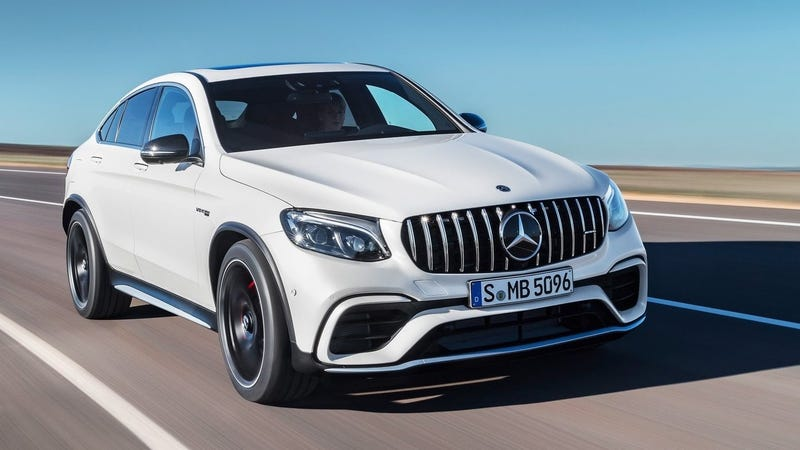 Illustration for article titled The Mercedes-AMG GLC 63 S Is Now The Fastest SUV Around The Nürburgring