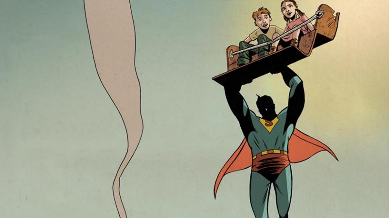 Image: Superman: The Golden Age art by  Adrien van Viersen