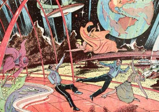 Illustration for article titled Honeymoon on the Moon